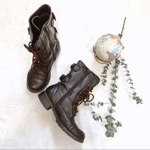 Ragged Army Boots 6